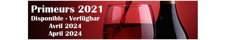 Primeurs 2019 Disponible Novembre 2021